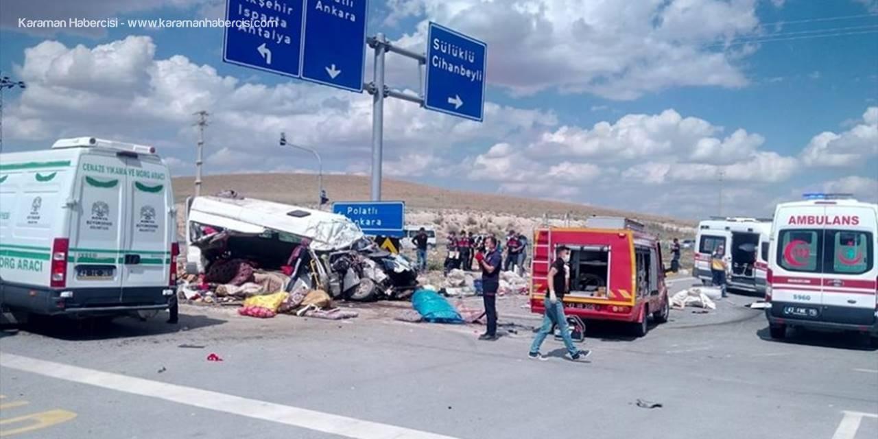 Konya'da Feci Kazada 6 Kişi Hayatını Kaybetti