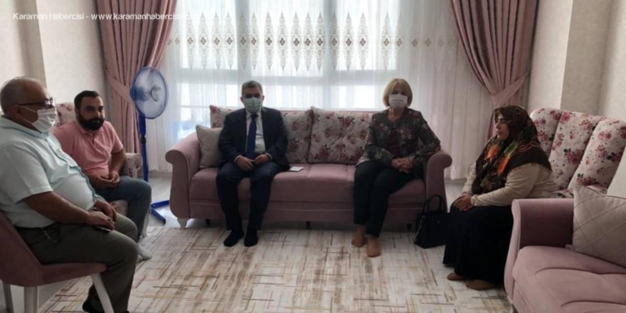 Karaman Valisi Mehmet Alpaslan Işık'tan Dündar Ailesine Ziyaret