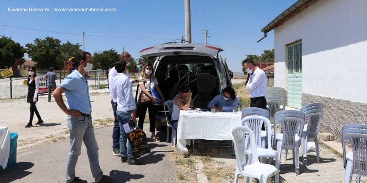 Karaman'da ÇED Toplantısına Korona Etkisi