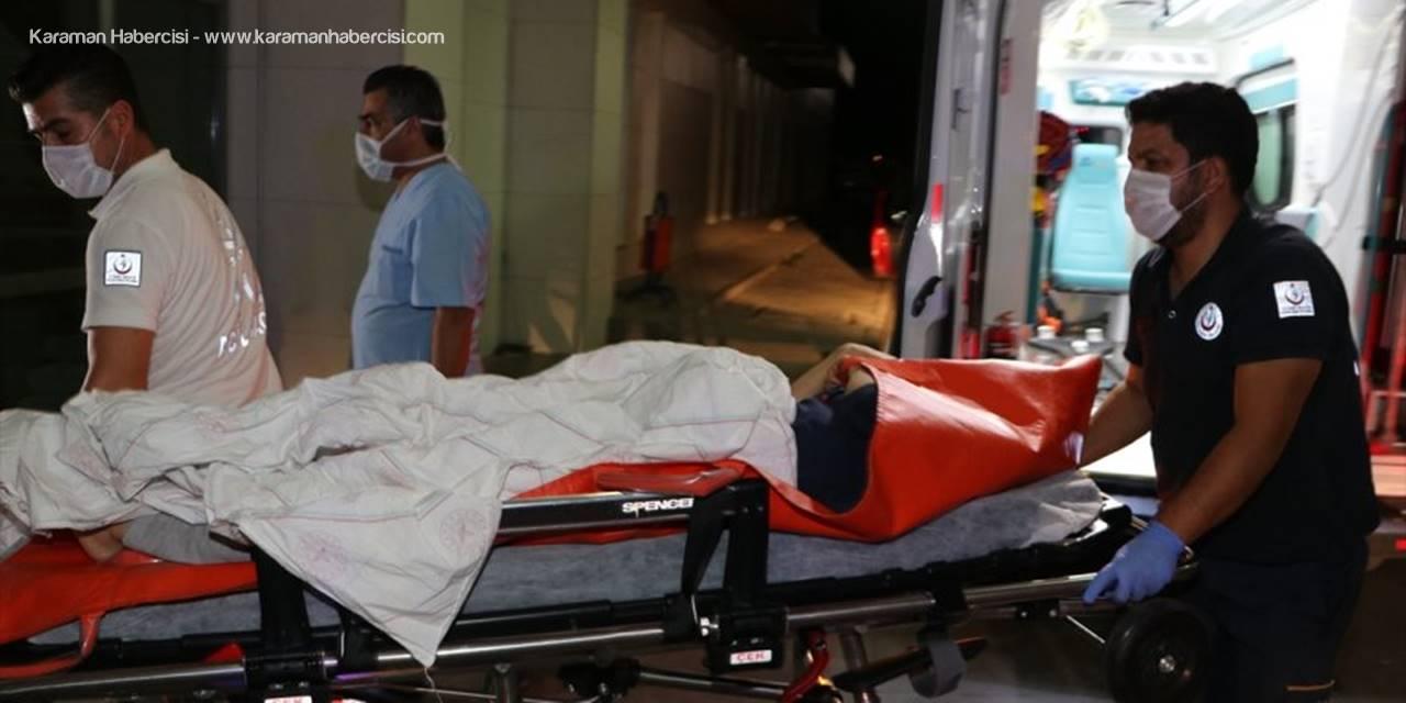 Karaman'da Eşlerin Kavgasında Baldız Yaralandı