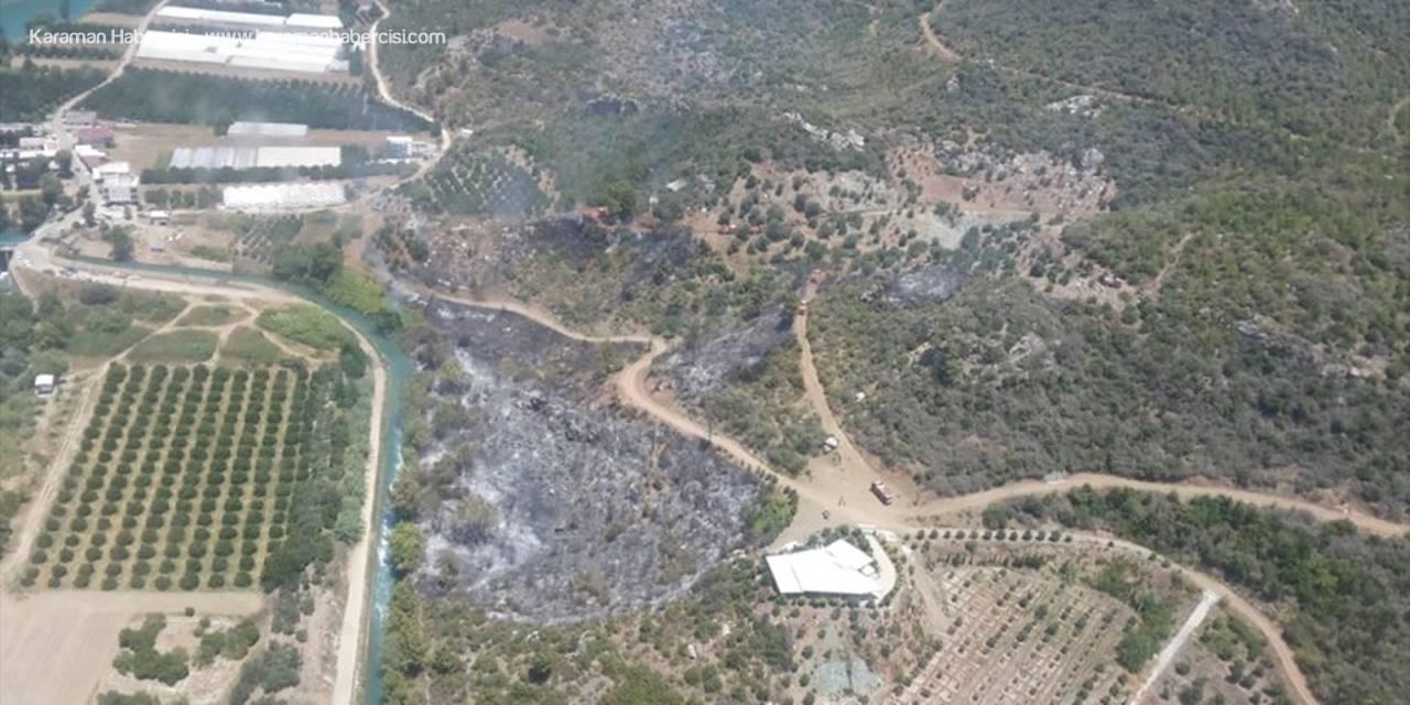 Manavgat'ta Çıkan Orman Yangını Söndürüldü