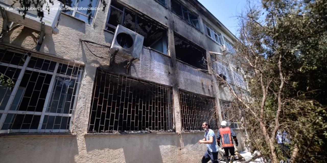 Mersin'de Kimya Laboratuvarında Patlamada 2 Öğretmen Yaralandı