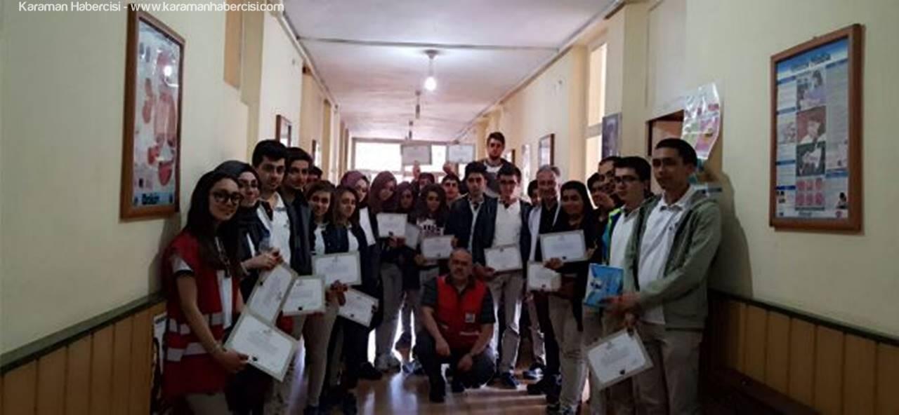 Karadağ Anadolu Lisesi'nden Kan Bağışı Kampanyası