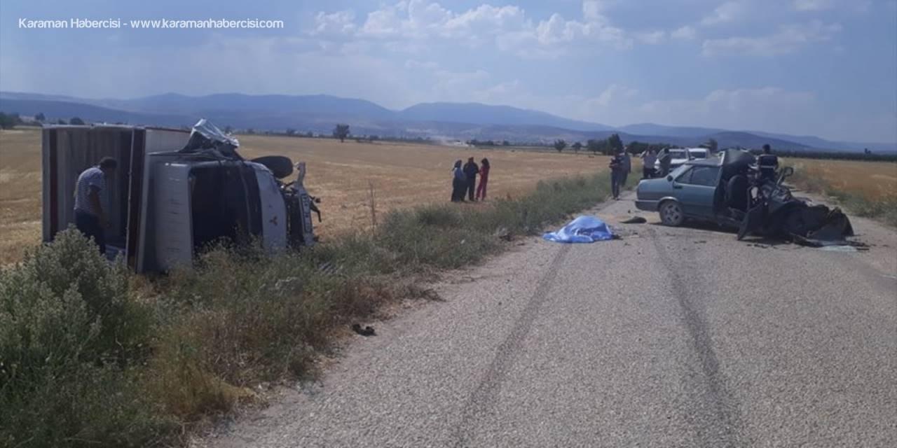 Antalya'da Otomobil İle Kamyon Çarpıştı: 1 Ölü, 1 Yaralı