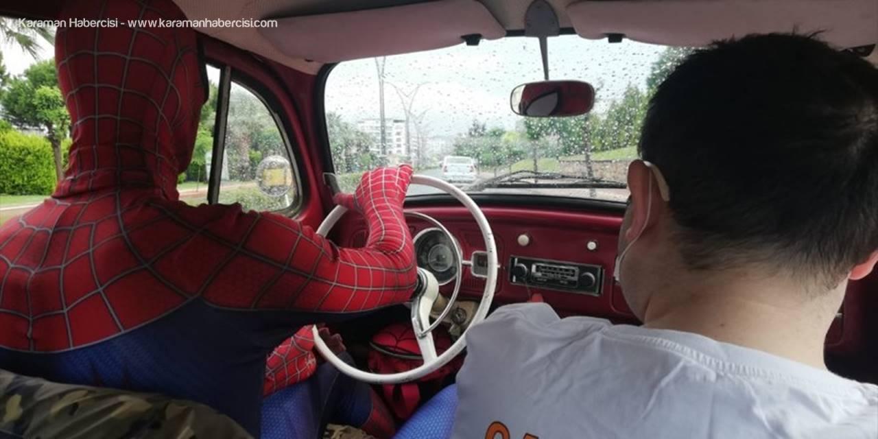 """Antalyalı """"Örümcek Adam""""dan """"Umut"""" Yolculuğu"""