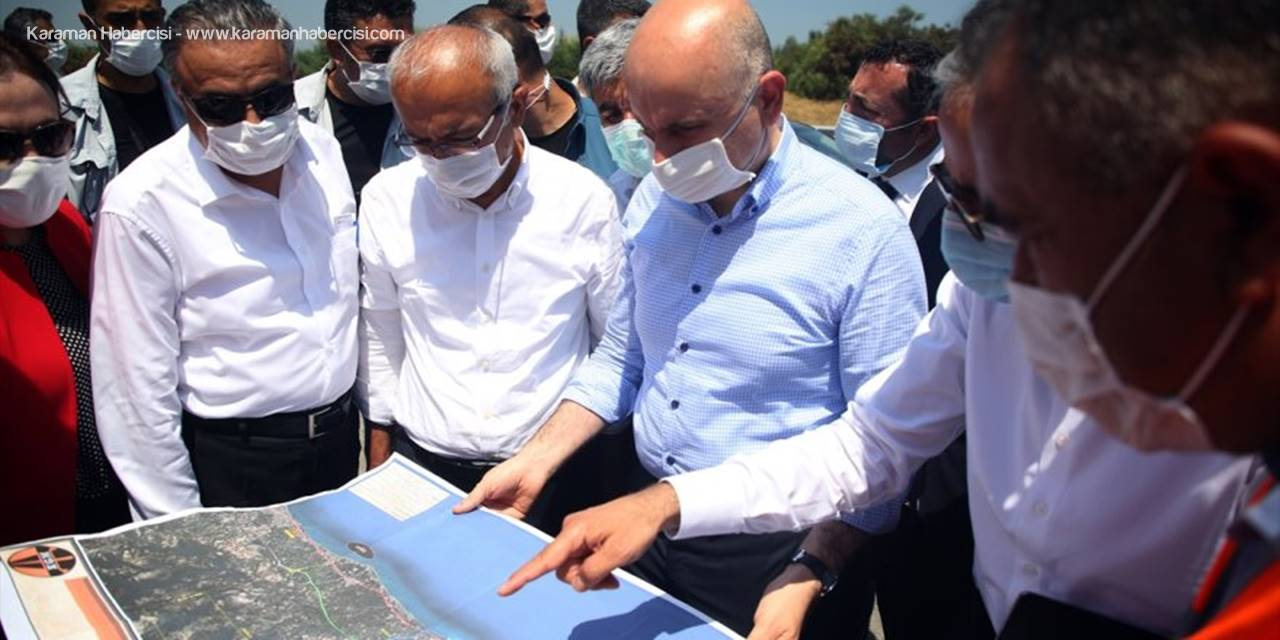 Bakan ve Elvan, Ayrancı-Köserelli Yol Çalışmasını da Değerlendirdi