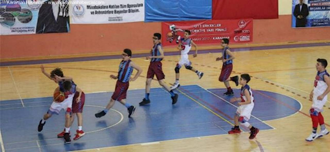 Türkiye Basketbol Şampiyonası Yari Final  Müsabakaları Başladı