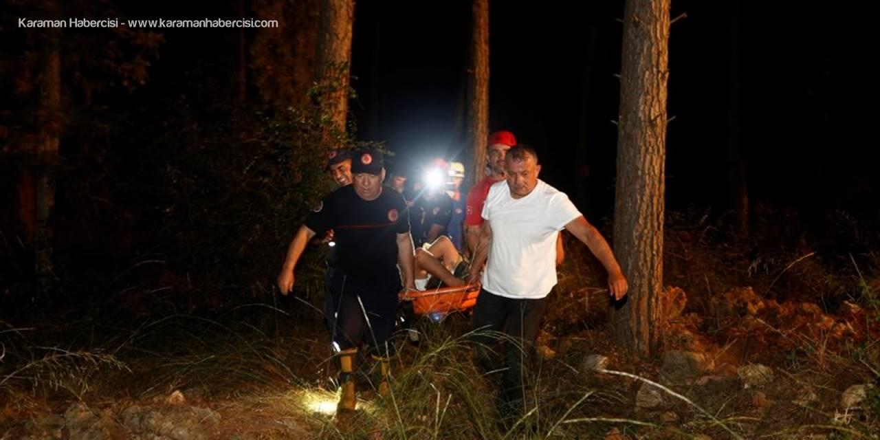 Antalya'da Defineciler Mağarada Mahsur Kaldı