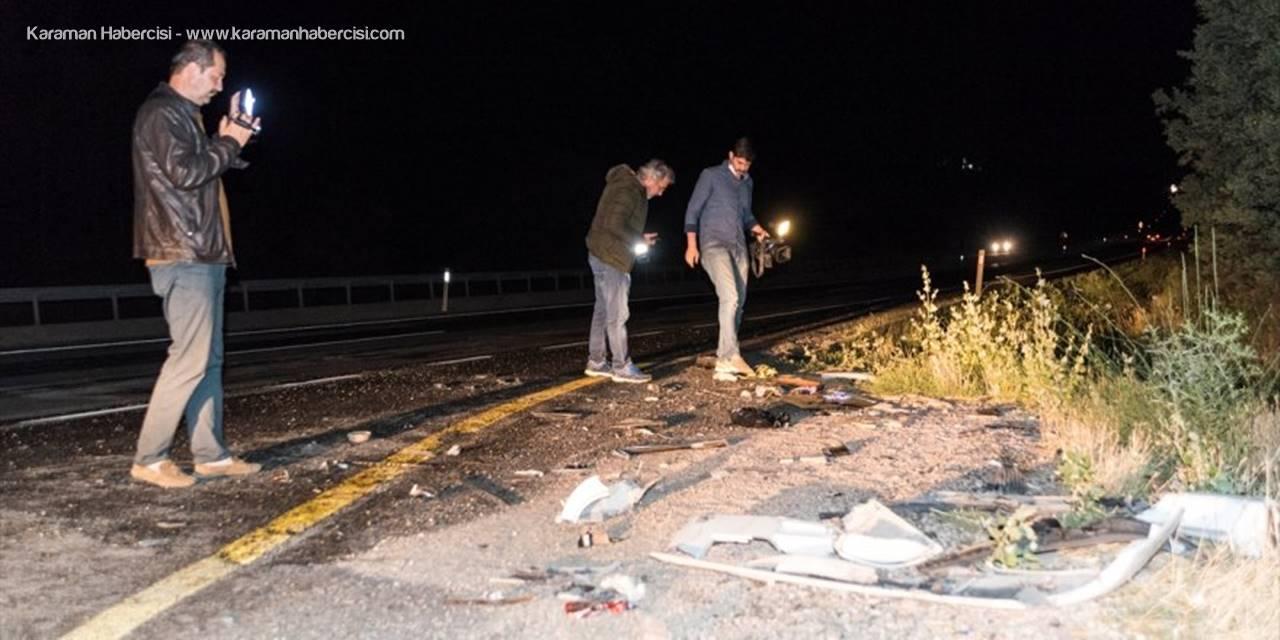 Başkentte Tır İle Otomobil Çarpıştı: 2 Ölü, 1 Yaralı