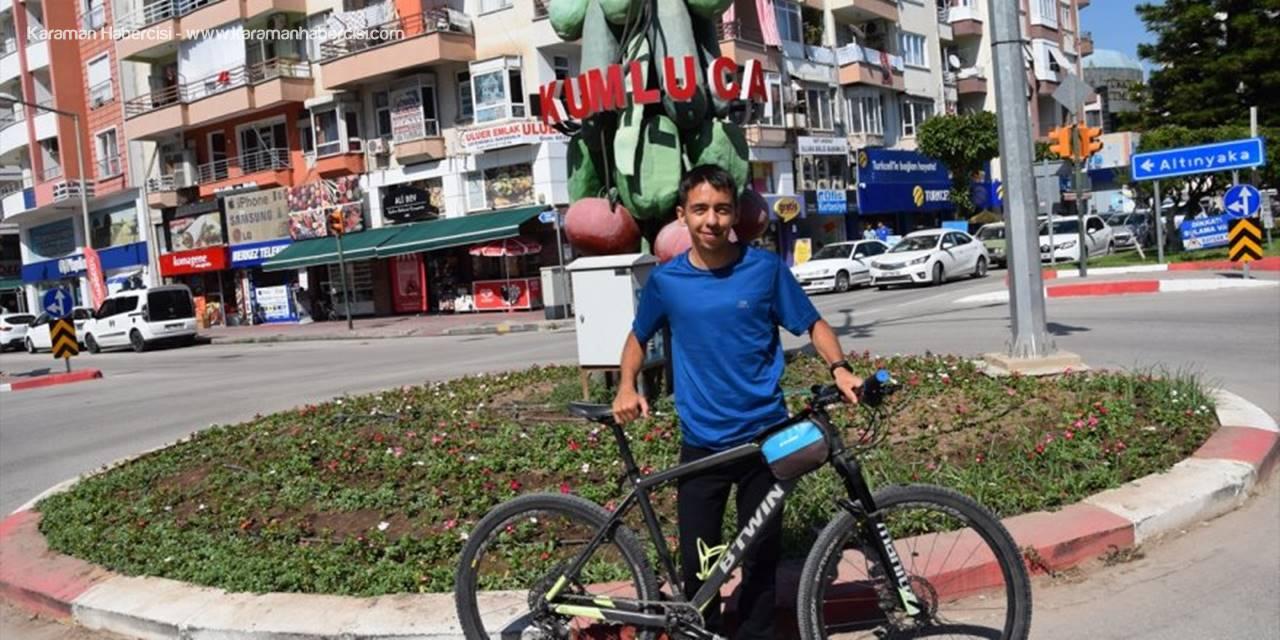 Antalya'da  Bisikletli Vatandaş Cezasını İptal Ettirdi