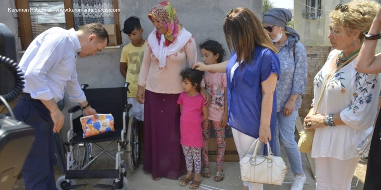 Mersin'de Engelli Vatandaşların Sandalye Sevinci