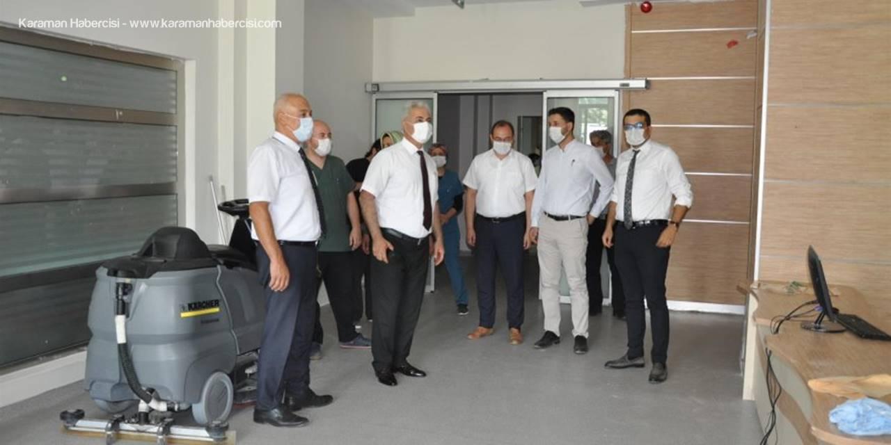 Karaman'da Acil Servis Yoğun Bakım Biriminin Hizmete Girdi