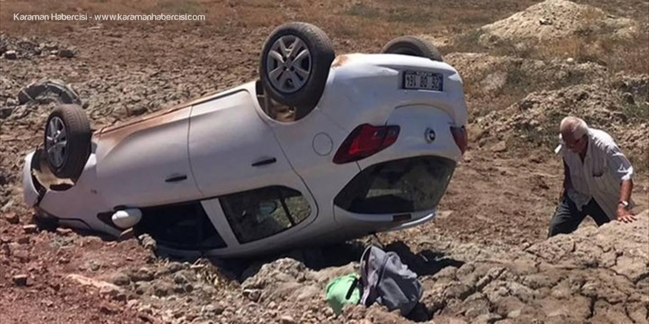 Antalya'da Trafik Kazası : Karı Koca Yaralandı