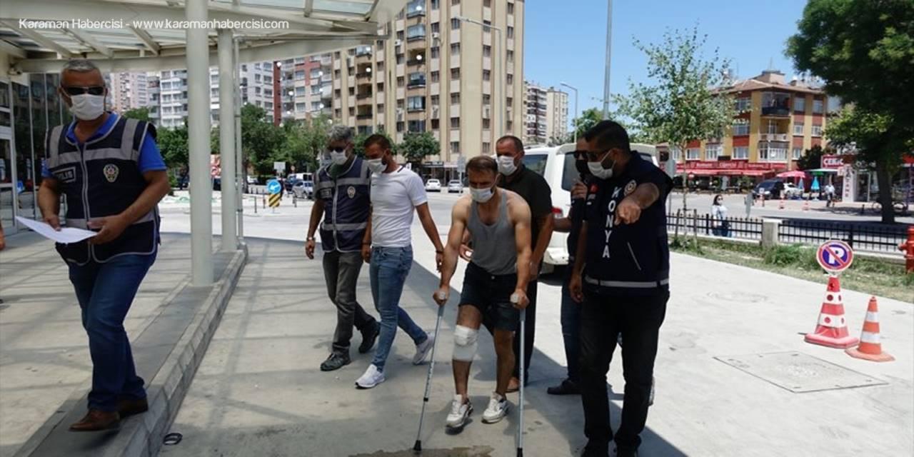 Konya'da Yaşanan Silahlı Kavgada 4 Kişi Tutuklandı