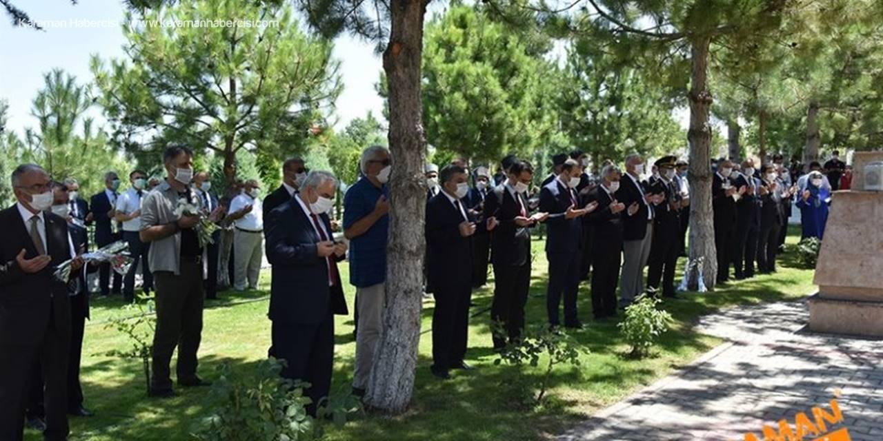 Karaman'da Şehitlik Ziyaretleri
