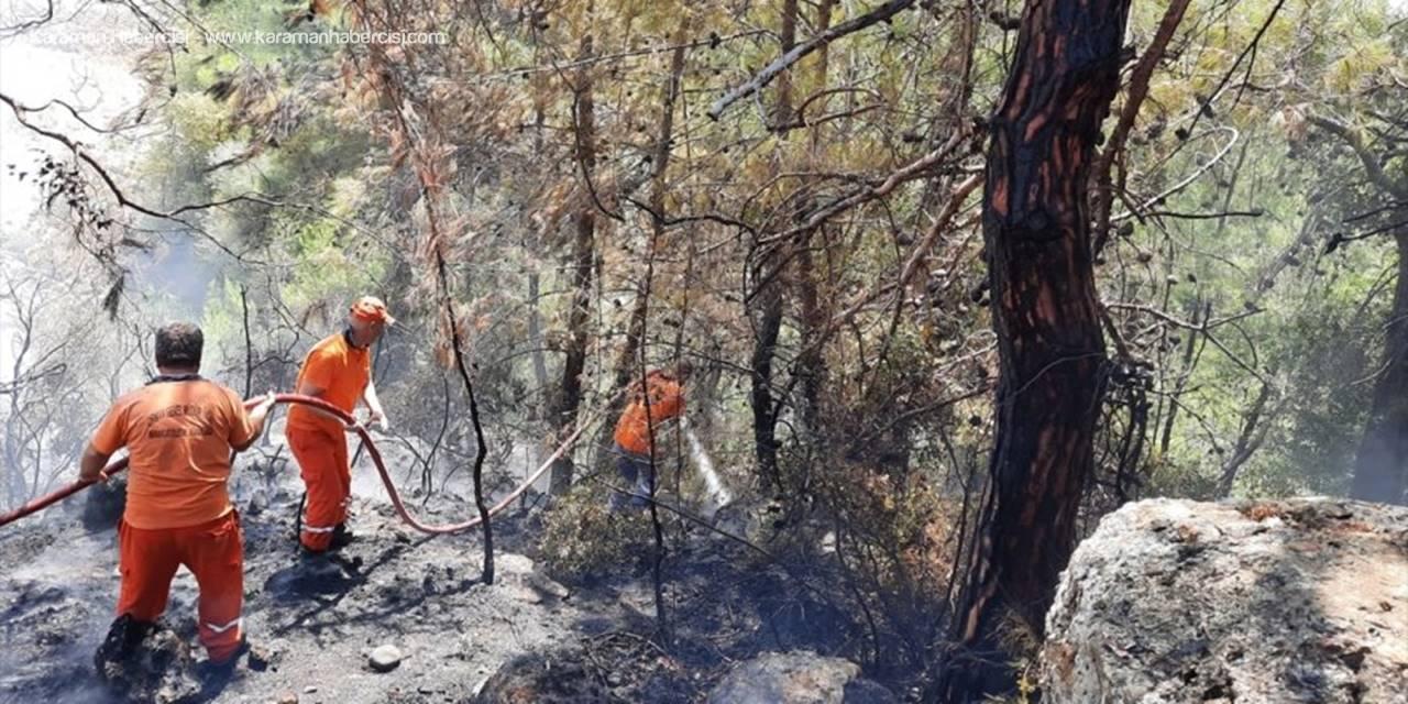 Antalya'da Panodan Çıkan Yangın Ormana Zarar Verdi