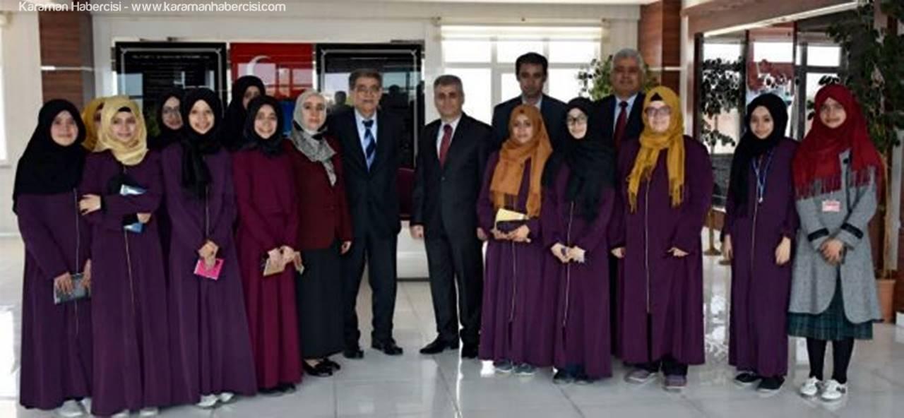 Anadolu Mektebi Karaman'da