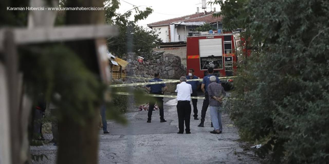 Ankara'da  Gecekondu Yangınında Bir Kişi Hayatını Kaybetti