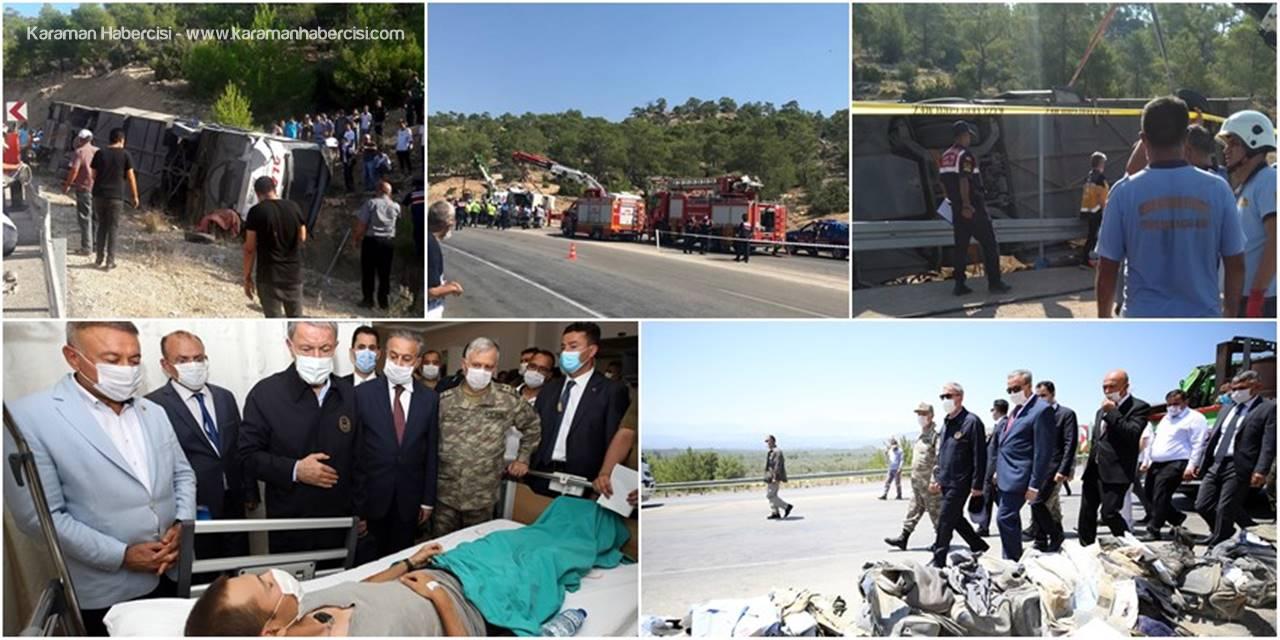 4 Askerimizin Şehit Olduğu Feci Kazada Son Durum