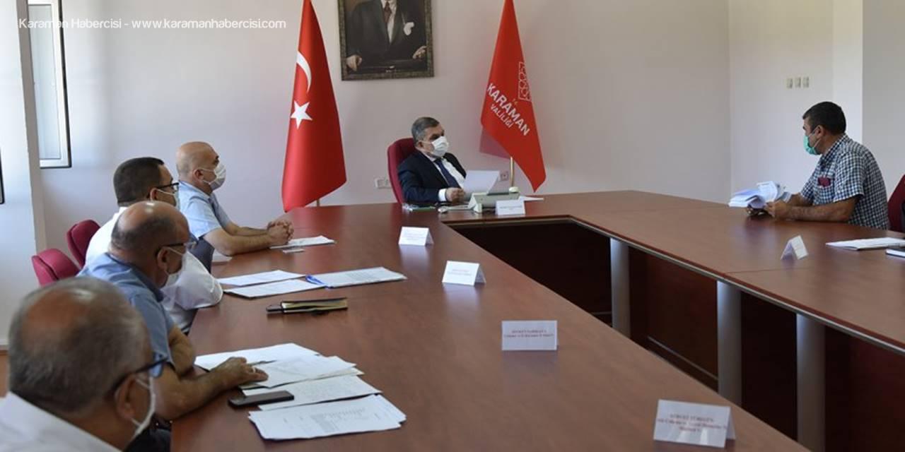 Halk Günü Toplantıları Karaman'da Kaldığı Yerden Devam Ediyor