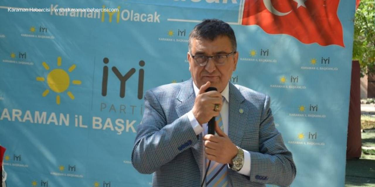 İYİ Parti Karaman İl Başkanı İsmet Hatipoğlu'nun Cumhuriyet Bayramı Mesajı
