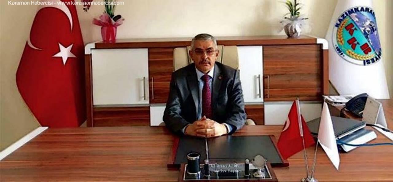 KazımKarabekir Belediye Başkanı Alanlı'nın Berat Kandili Mesajı