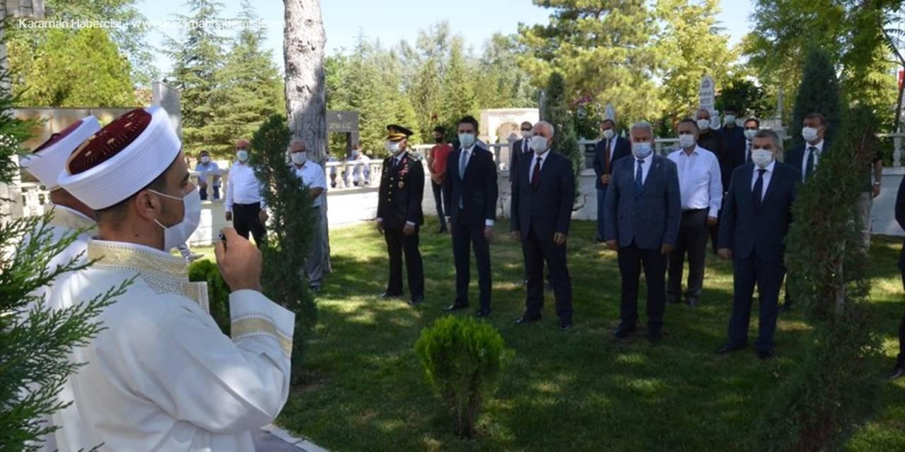 Karaman'da Arefe Gününde Şehitlik Ziyareti