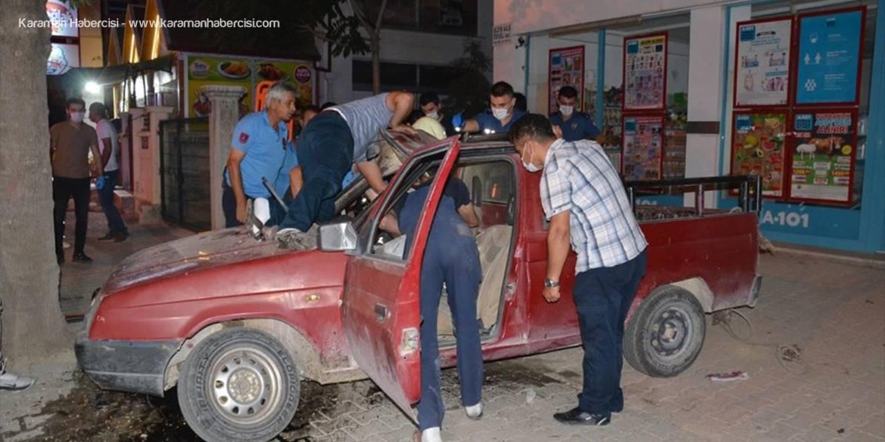 Karaman'da Kovalamaca Hastanede Tamamlandı