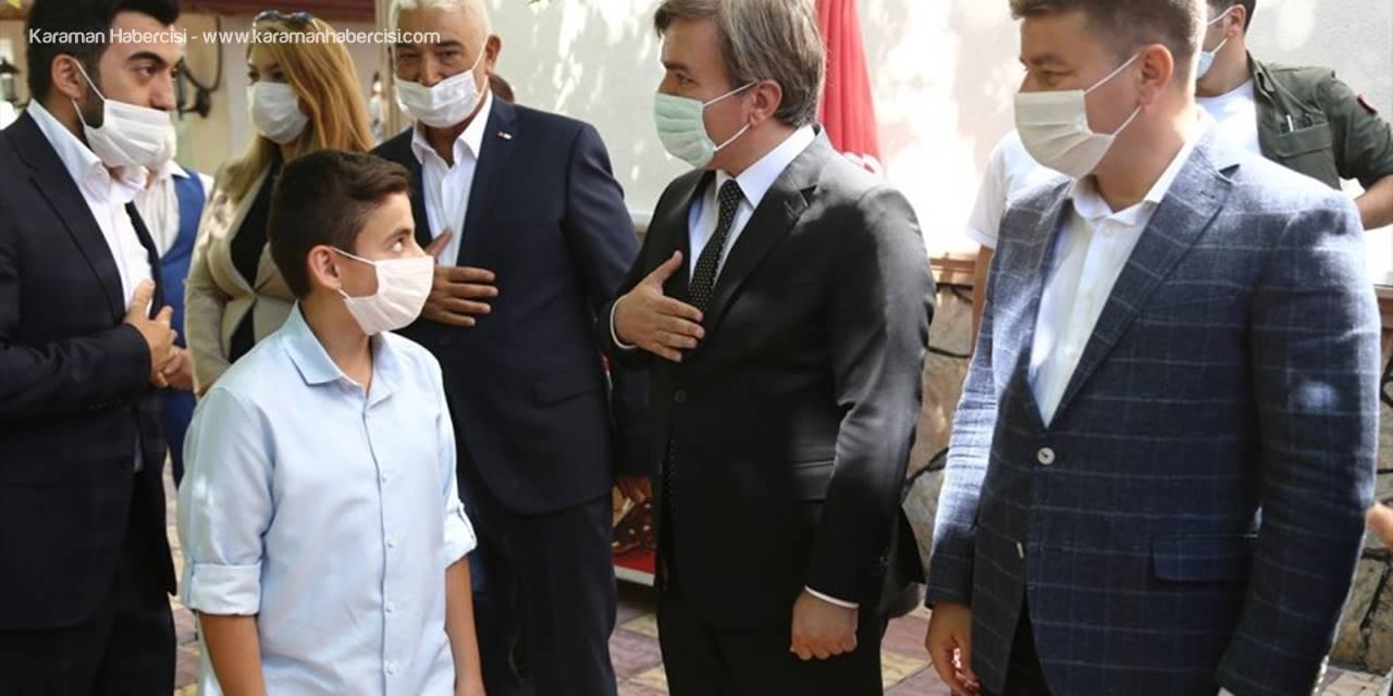 Aksaray'da Bayramlaşma Töreni Düzenlendi