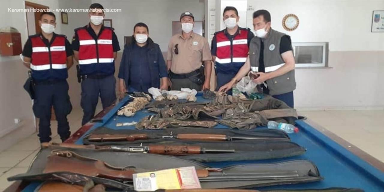 Niğde'de Kaçak Avcılara 29 Bin 363 Lira Ceza Uygulandı