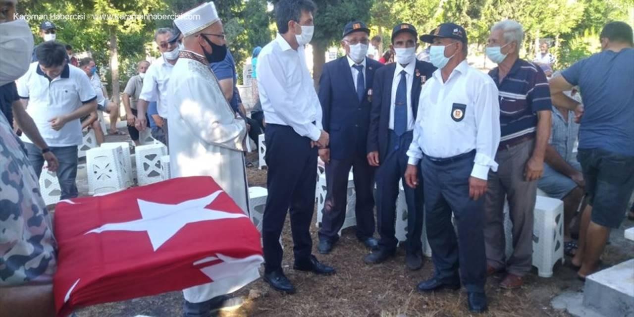 Kıbrıs Gazisi Mehmet Sarı Mersin'de Son Yolculuğuna Uğurlandı