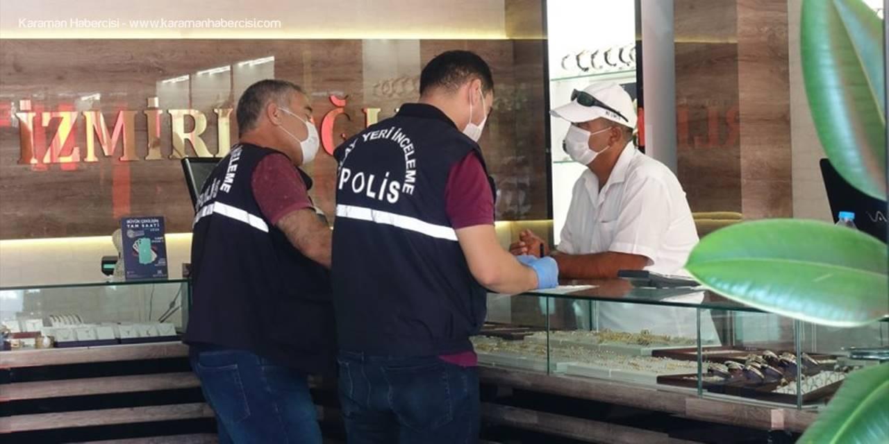 Konyalı Kuyumcu Hırsızları Polise Paket Etti