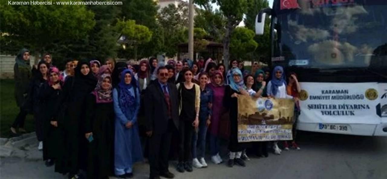 Türk Dilinin Başkenti'nden Şehitler Diyarı Çanakkale'ye Yolculuk