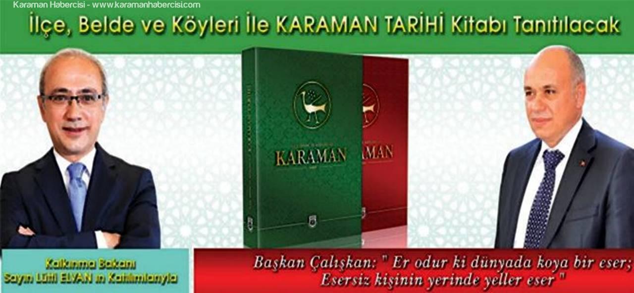 Karaman'ın Tarihi Kitap Oluyor