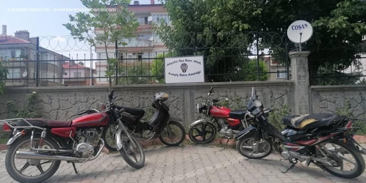 Konya'da Motosiklet Hırsızlığı Zanlıları Yakalandı