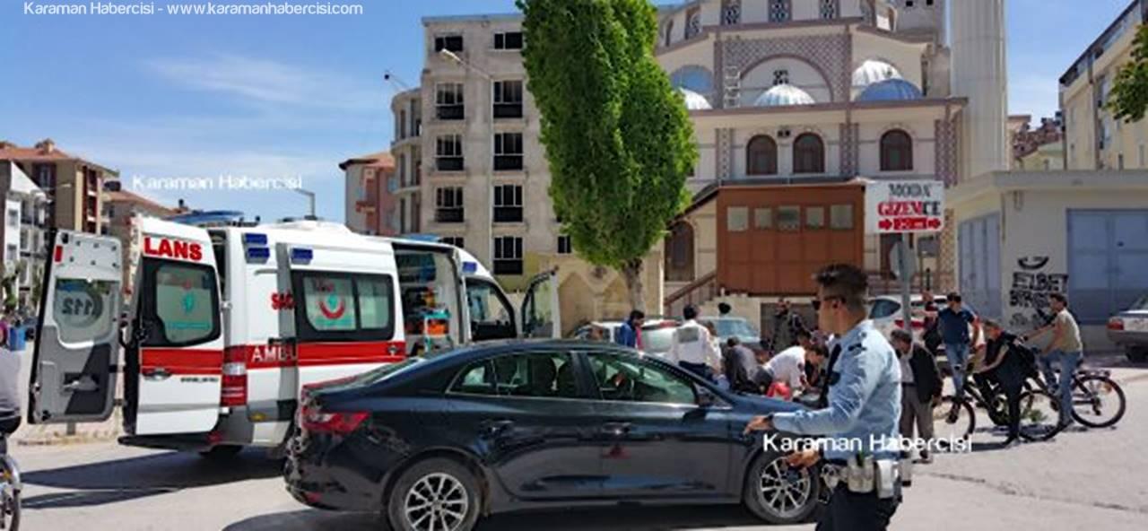 Karaman'da Hız Kesmeyen Trafik Kazaları