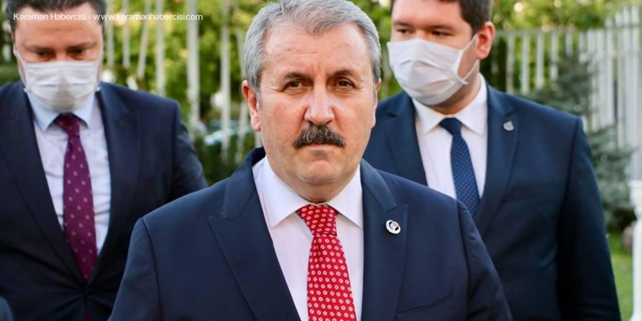 BBP Genel Başkanı Mustafa Destici, Eskişehir'de Gündemi Değerlendirdi