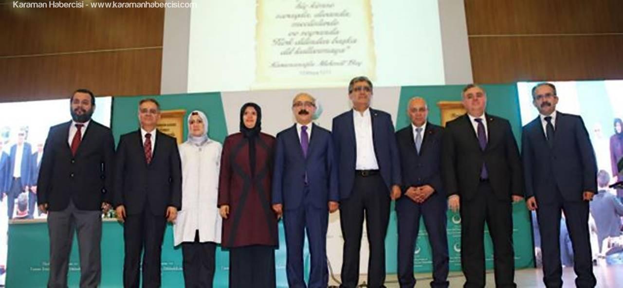 Karaman'da Dil Bayramı Etkinlikleri Bugün Dolu Dolu Geçti
