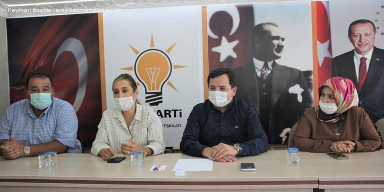 Milletvekili Çokal'dan Ak Parti Korkuteli Teşkilatına Ziyaret