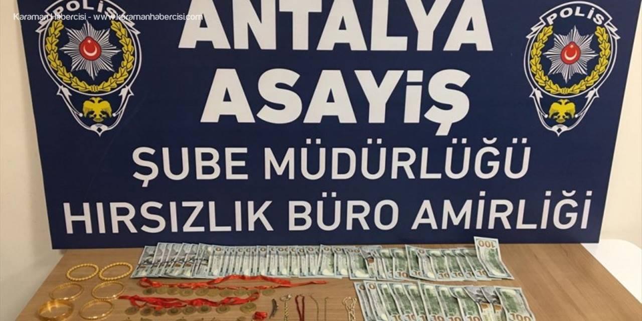 Antalya'da Bekçilerin Durdurduğu Otomobilde 3 Hırsızlık Zanlısı Yakalandı