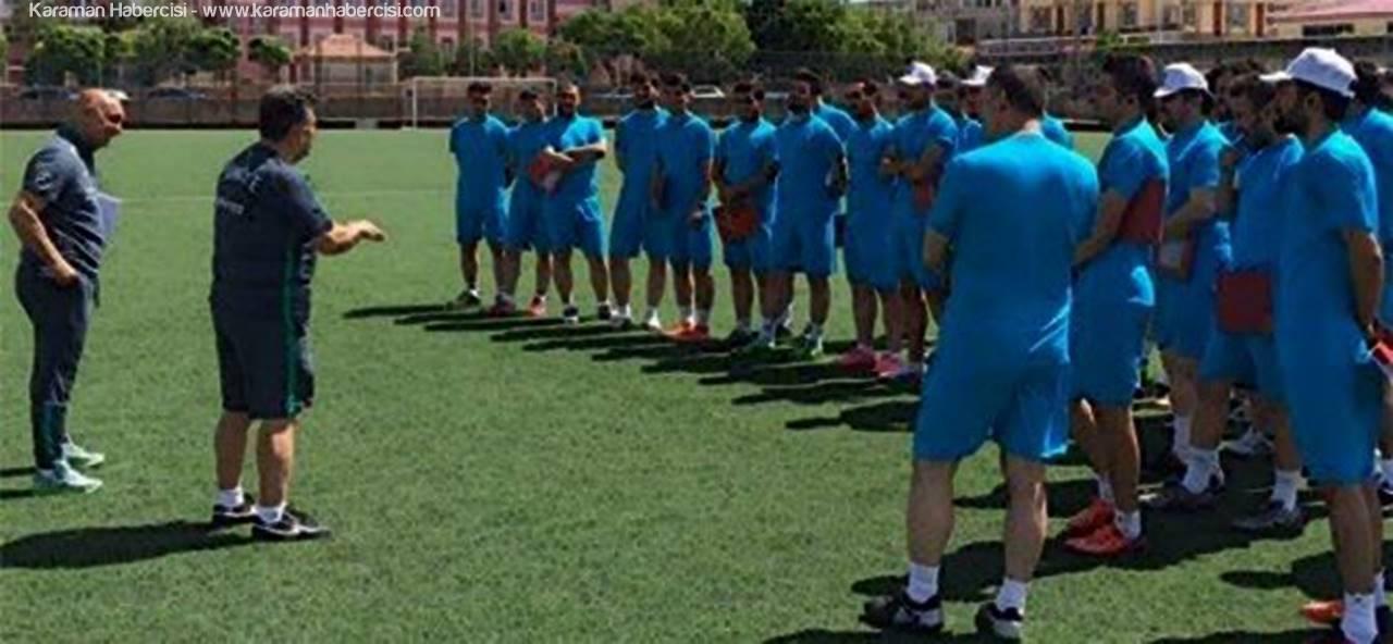 Karaman'da TFF C Antrenör Kursu Başladı