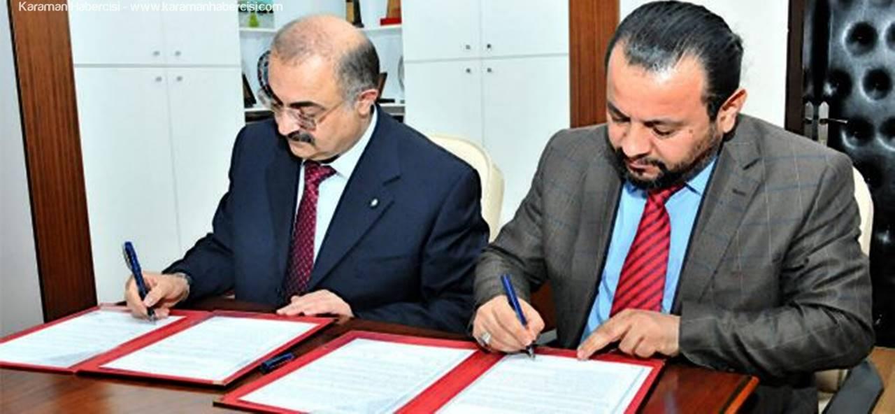 KMÜ ve İTÜ-KKTC Arasında 5 Yıllık İşbirliği Protokolü