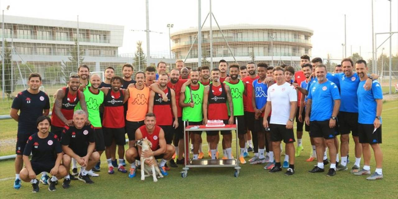 Antalyaspor, Yeni Sezon Hazırlıklarına Devam Etti