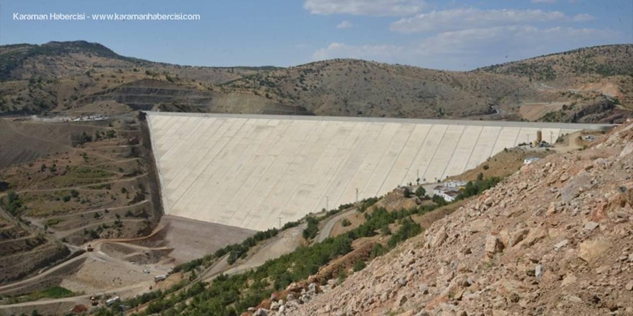 Konya'da Tamamlanan Bozkır Barajı Su Tutmaya Başladı