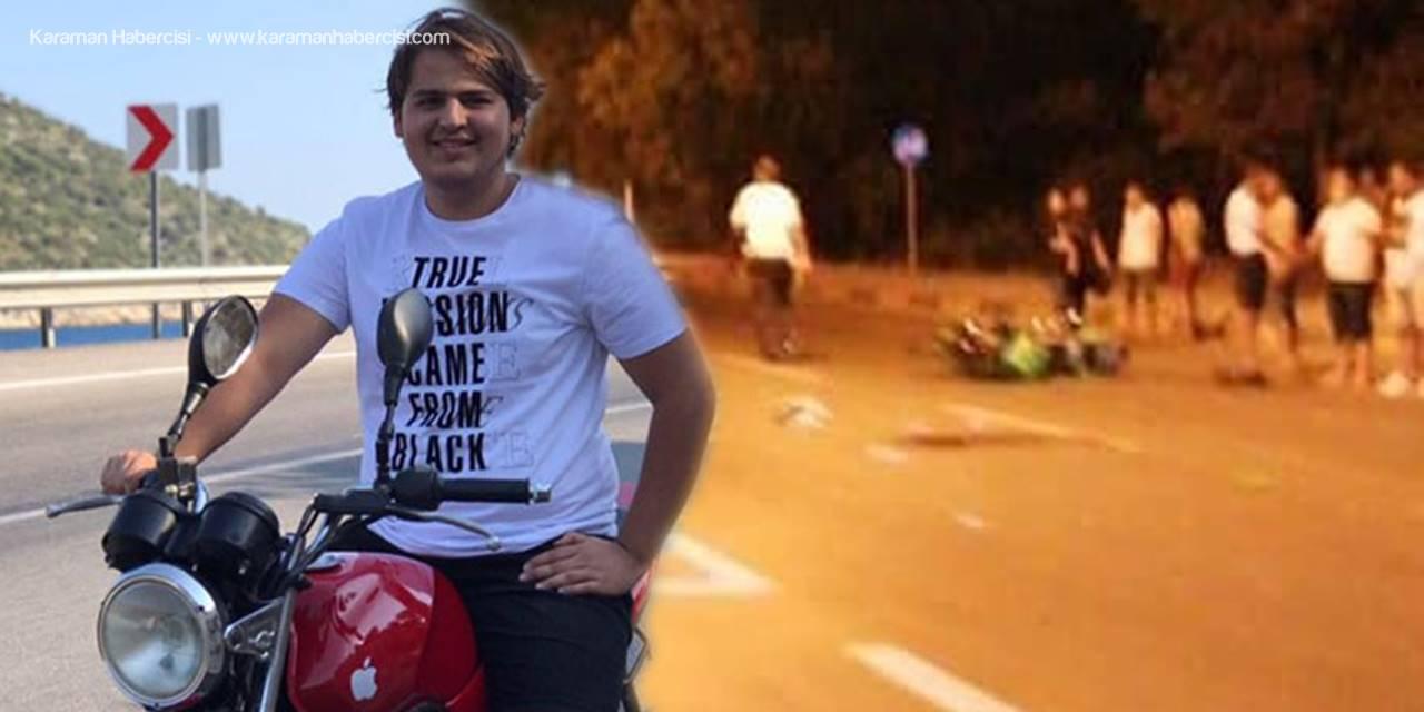 Genç Sürücü Hayatını Kaybetti