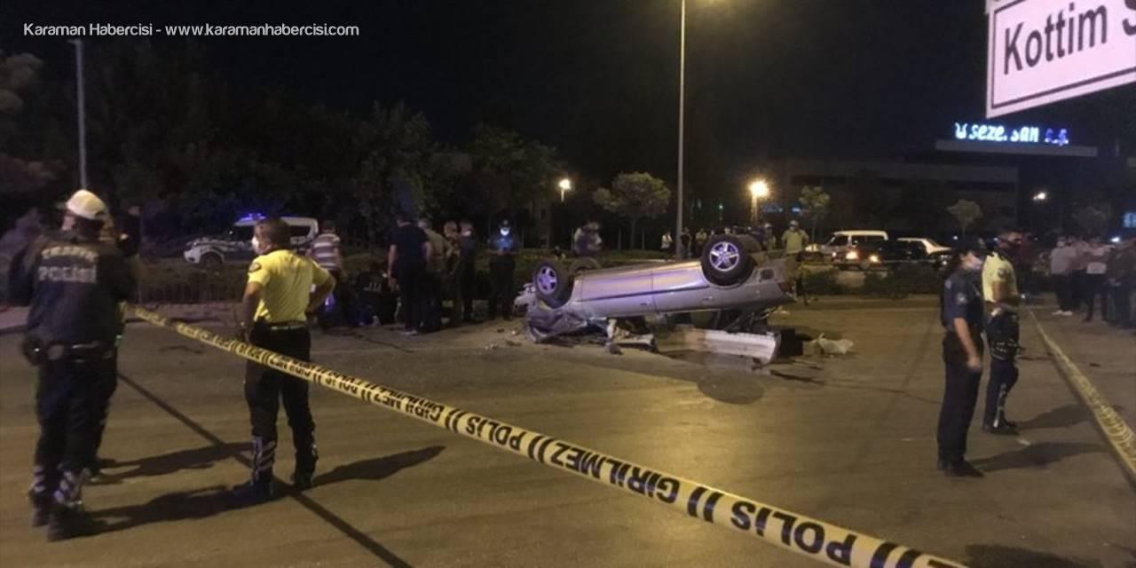 Konya'da Otomobil İle Kamyonet Çarpıştı: 1 Kişi Öldü, 3 Kişi Yaralandı