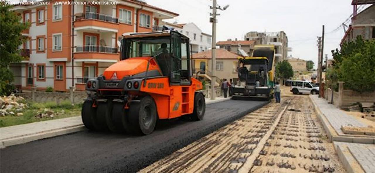 Asfalt Çalışmaları Osmangazi Mahallesi'nde Devam Ediyor