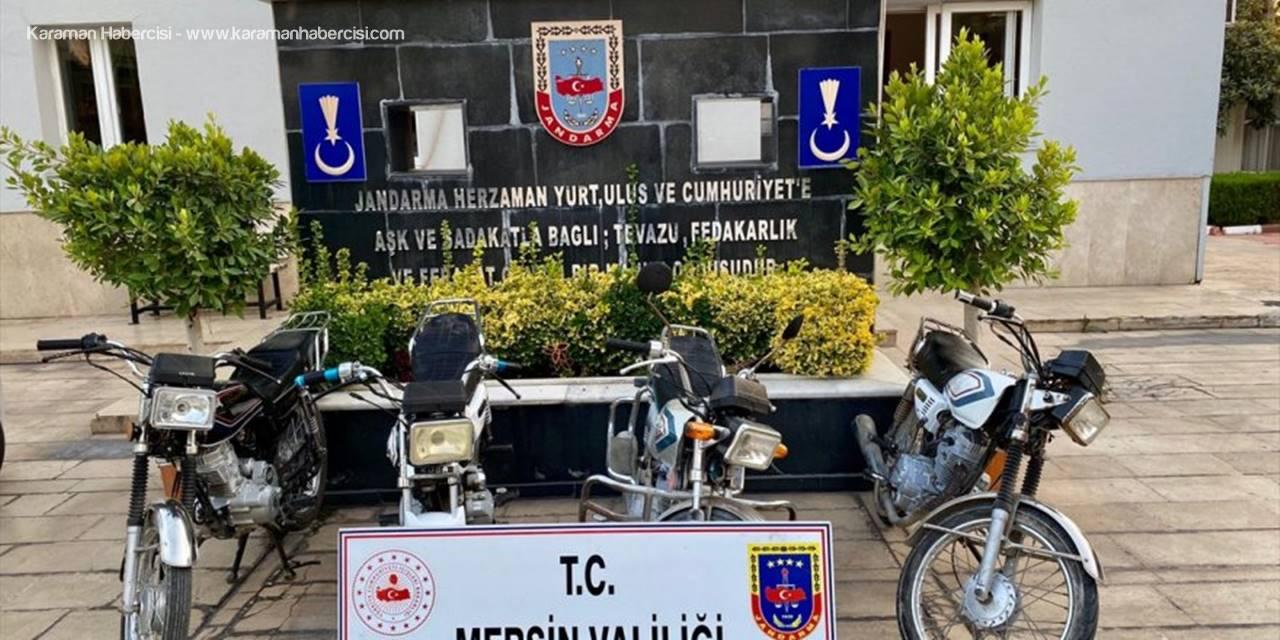 Mersin'de Motosiklet Hırsızlığı Operasyonu