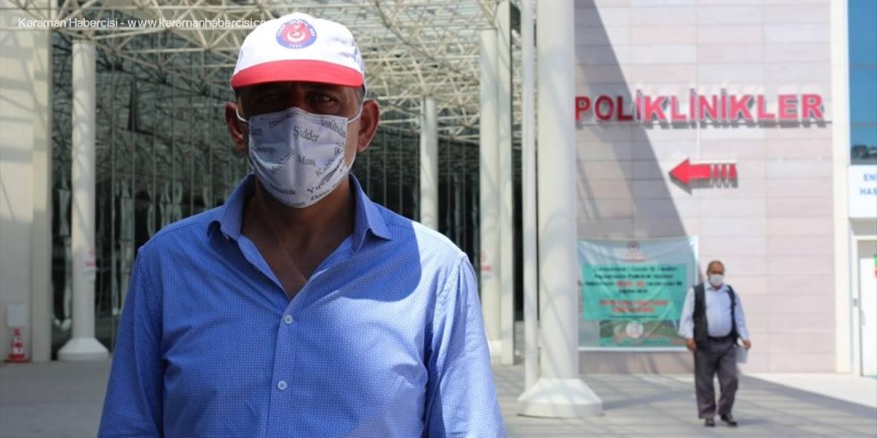 Türk Sağlık- Sen Konya Şube Başkanı Töke, Basın Açıklaması Yaptı