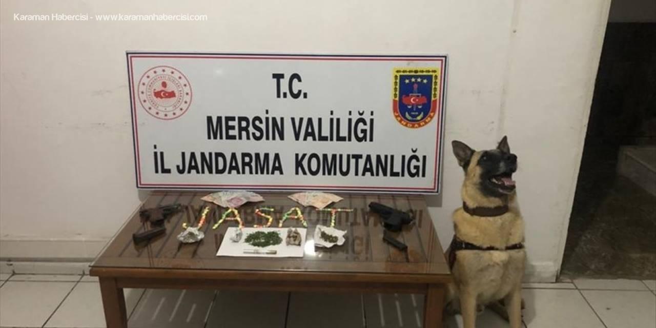 Mersin'de Uyuşturucu Operasyonunda 4 Şüpheli Yakalandı